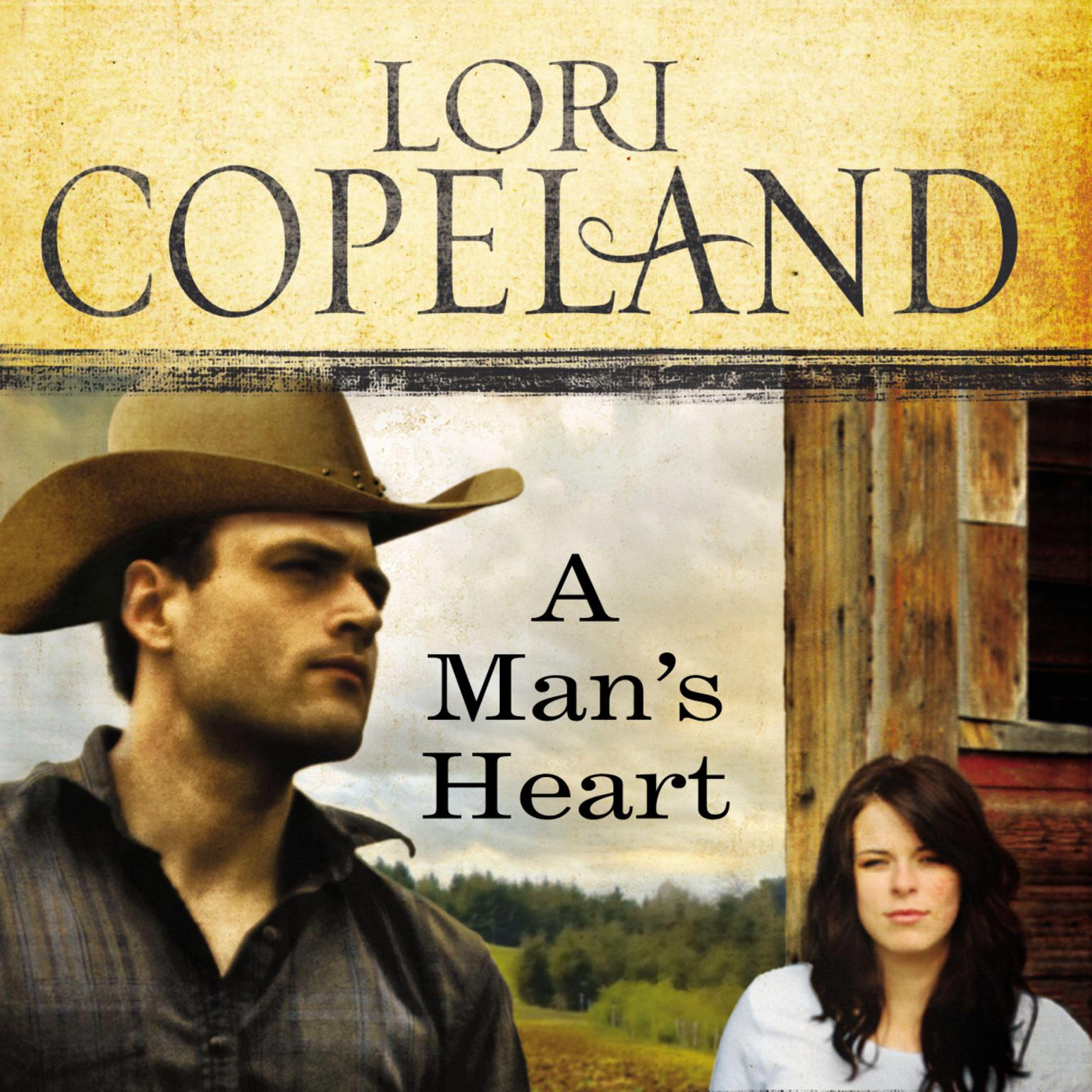 Printable A Man's Heart Audiobook Cover Art