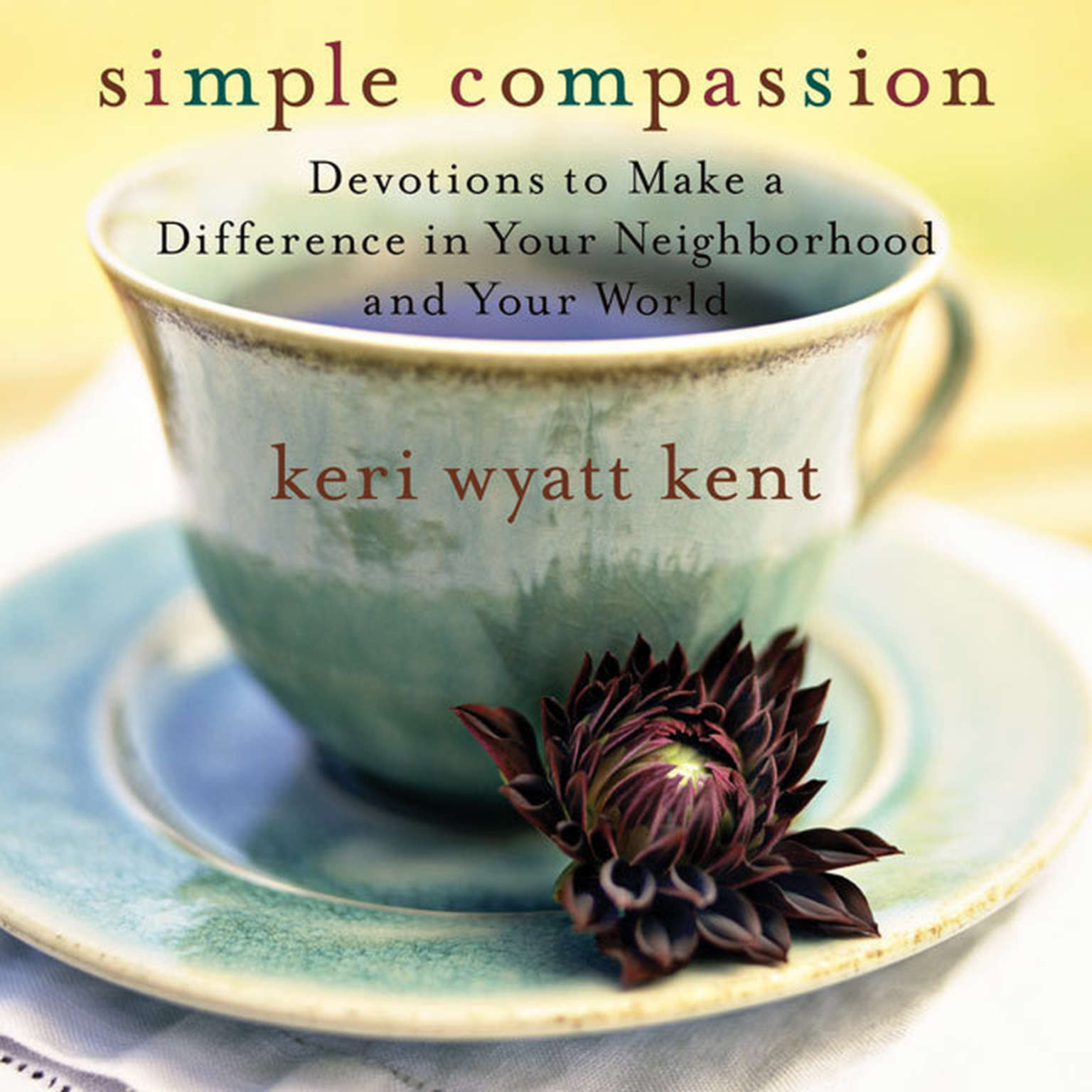 Printable Simple Compassion: Devotions to Make a Difference in Your Neighborhood and Your World Audiobook Cover Art
