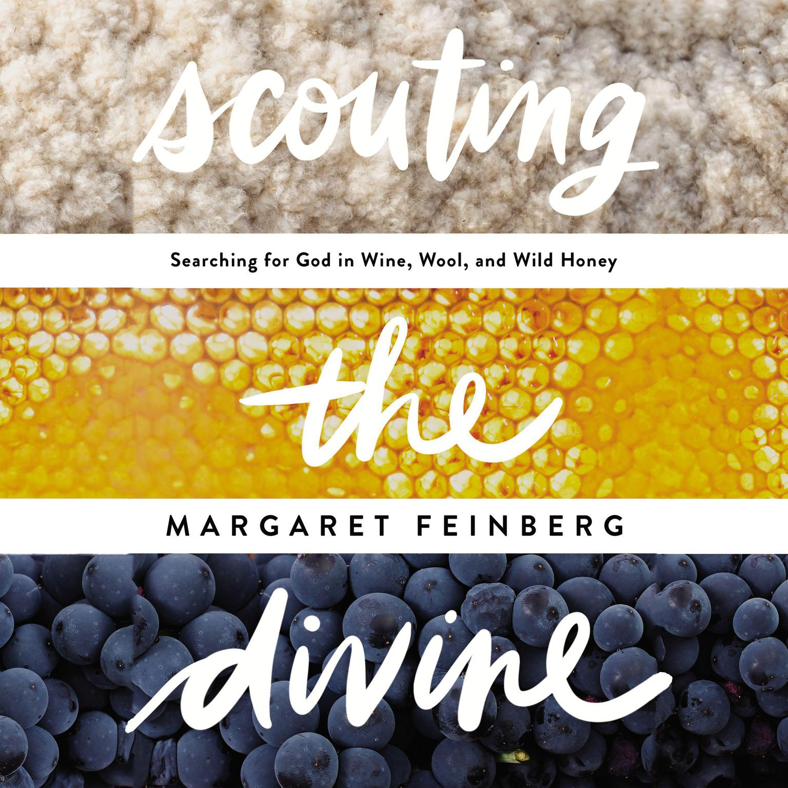 Printable Scouting the Divine: My Search for God in Wine, Wool, and Wild Honey Audiobook Cover Art