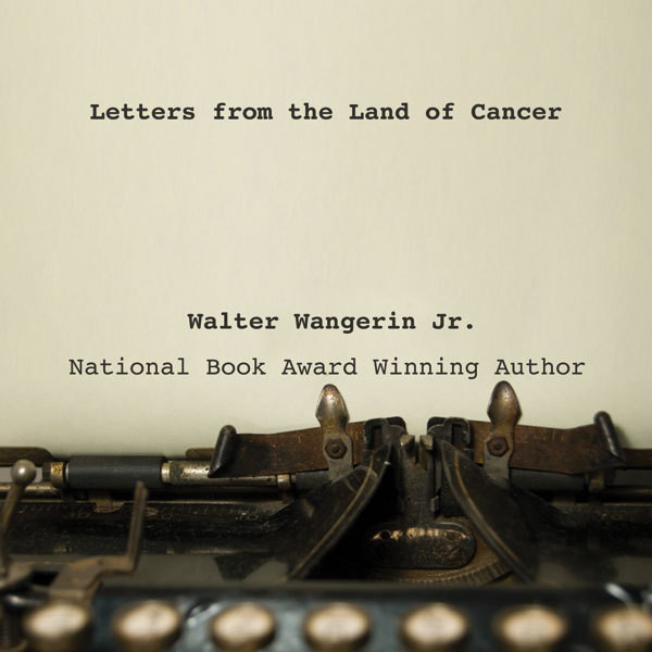 Printable Letters from the Land of Cancer Audiobook Cover Art