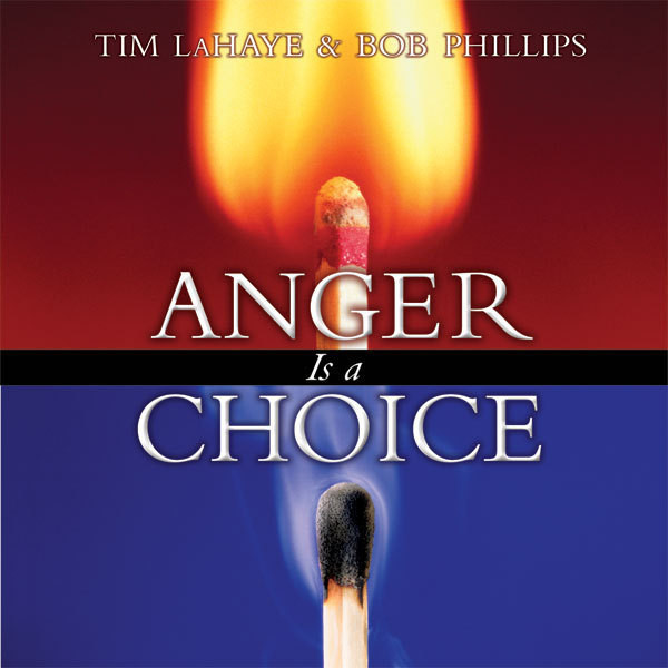 Printable Anger Is a Choice Audiobook Cover Art
