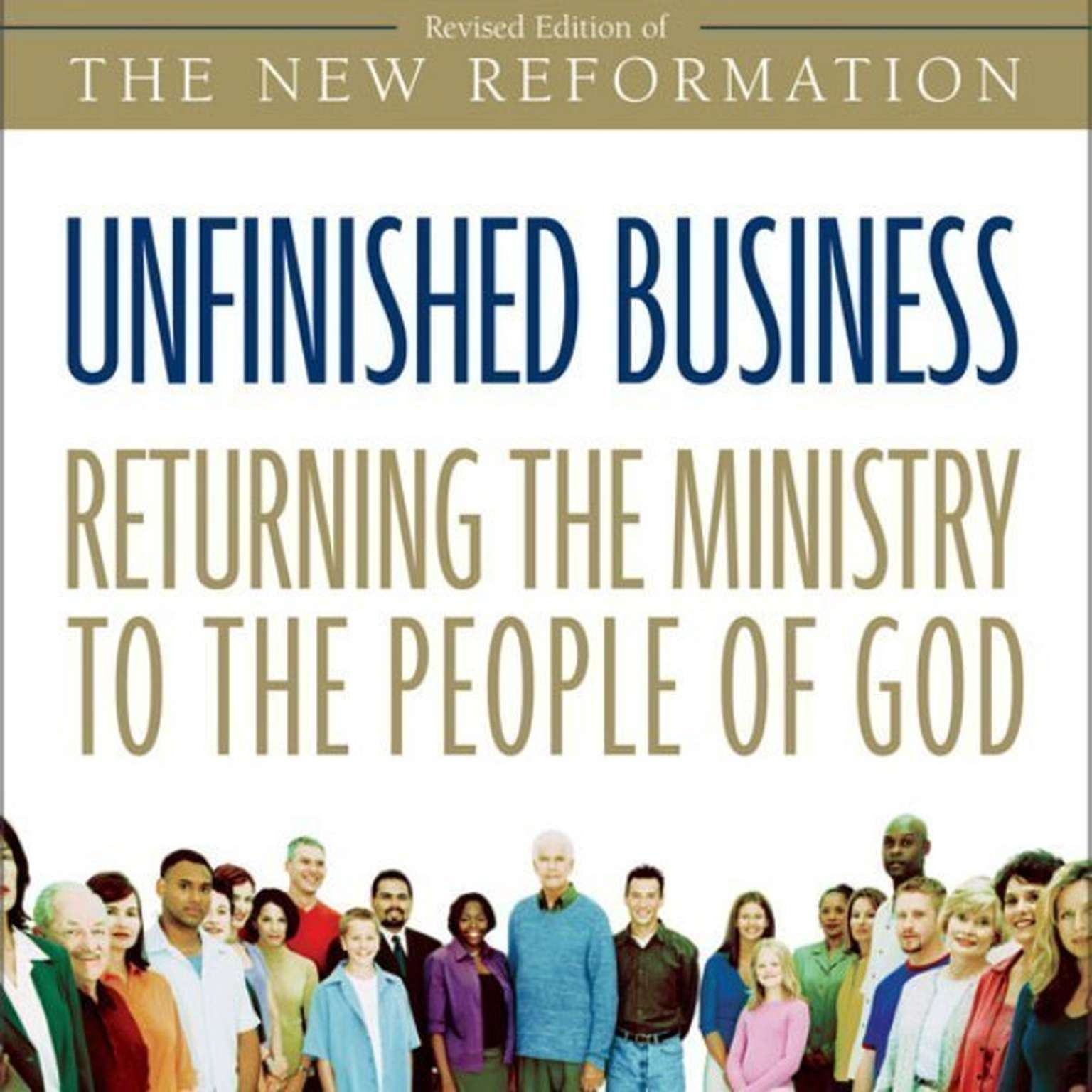 Printable Unfinished Business: Returning the Ministry to the People of God Audiobook Cover Art