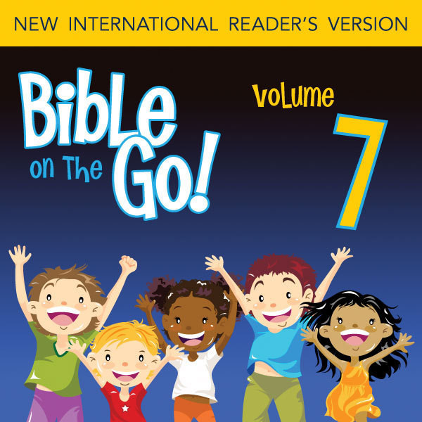 Printable Bible on the Go Vol. 07: The Ten Plagues on Egypt; the First Passover; and the Exodus (Exodus 7-12) Audiobook Cover Art