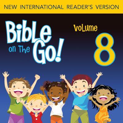 Bible on the Go Vol. 08: The Desert Journey and the Ten Commandments (Exodus 13-16, 19-20, 24, 26) Audiobook, by Zondervan