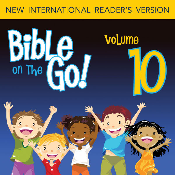 Printable Bible on the Go Vol. 10: Report on the Promised Land; the Bronze Snake; and Baalam's Donkey (Numbers 13-14, 21-22) Audiobook Cover Art