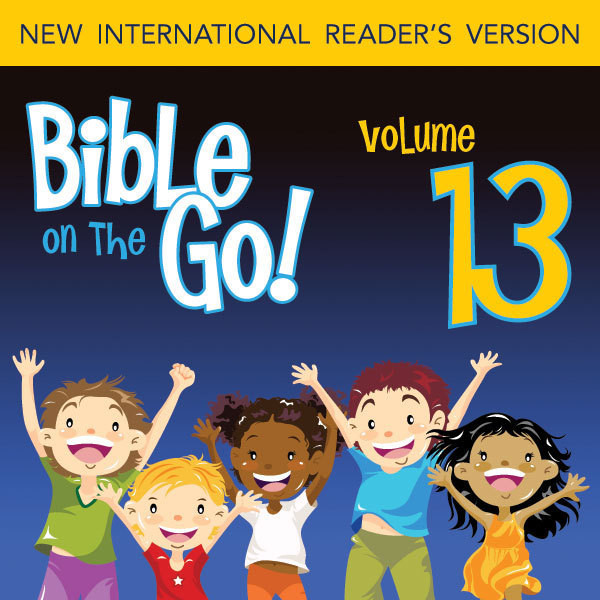 Printable Bible on the Go Vol. 13: The Stories of Gideon and Samson (Judges 6-8, 13, 16): The Stories of Gideon and Samson Audiobook Cover Art