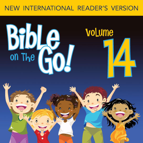 Printable Bible on the Go Vol. 14: The Story of Ruth (Ruth 1-4) Audiobook Cover Art