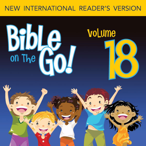 Printable Bible on the Go Vol. 18: The Story of King Solomon (1 Kings 2-4, 6-8) Audiobook Cover Art