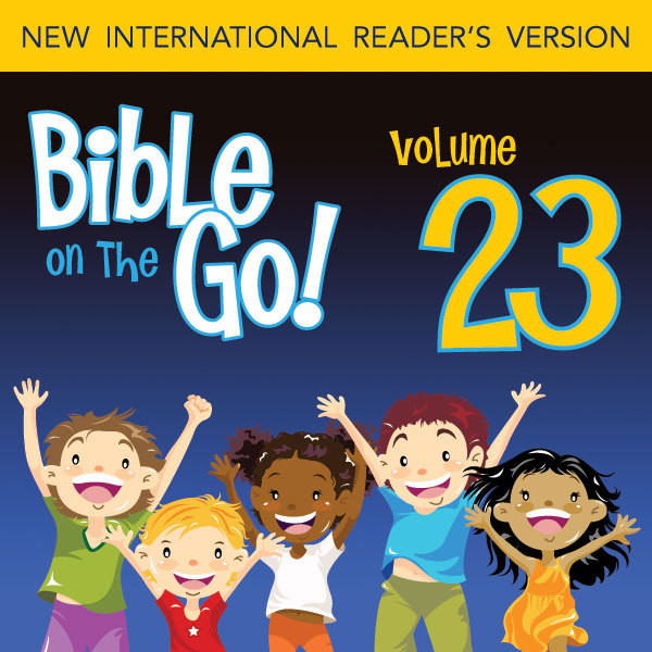 Printable Bible on the Go Vol. 23: The Story of Nehemiah; Ezra Reads the Law (Nehemiah 1-2, 6-10) Audiobook Cover Art