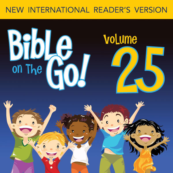 Printable Bible on the Go Vol. 25: The Story of Job (Job 1-5, 8, 11, 27, 38, 40, 42) Audiobook Cover Art