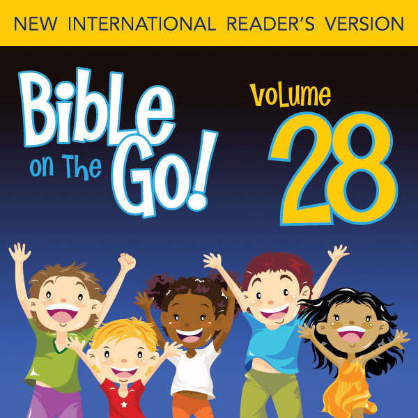 Printable Bible on the Go Vol. 28: Psalm 128, 145, 51, 55, 67, 95, 121, 139 Audiobook Cover Art