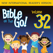Bible on the Go Vol. 32: Daniel and the Fiery Furnance, Writing on the Wall, and the Lions Den (Daniel 3, 5, 6) Audiobook, by Zondervan