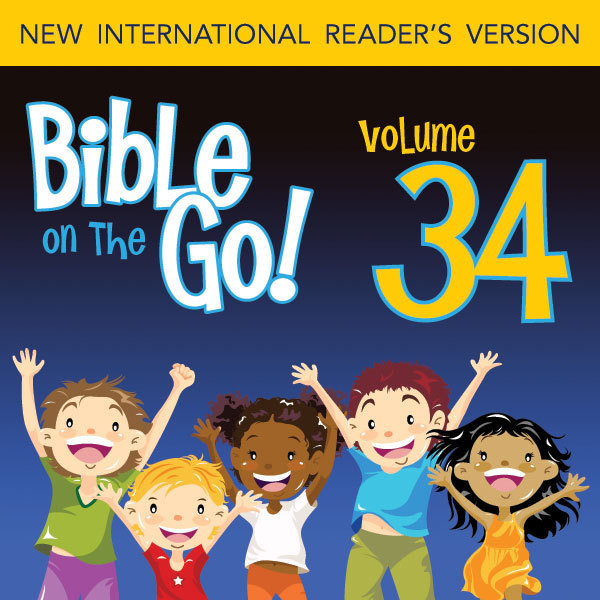 Printable Bible on the Go Vol. 34: The Early Life of Jesus (Luke 1-2; Matthew 2): The Early Life of Jesus (Luke 1–2; Matthew 2) Audiobook Cover Art