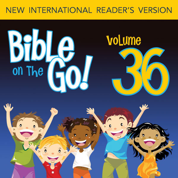 Printable Bible on the Go Vol. 36: The Twelve Disciples; Sermon on the Mount, Part 1 (Matthew 5-6, 10) Audiobook Cover Art