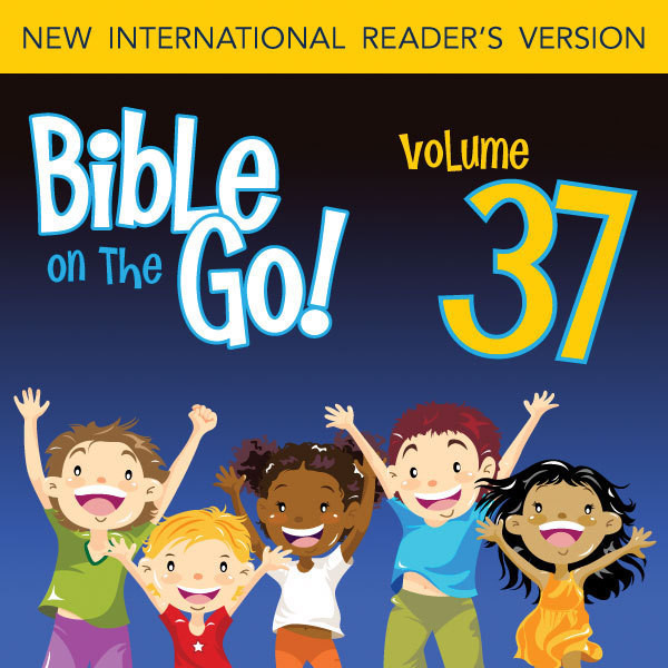 Printable Bible on the Go Vol. 37: The Sermon on the Mount, Part 2; Parables and Miracles of Jesus, Part 1 (Matthew 7-8, 13; Mark 4-5) Audiobook Cover Art