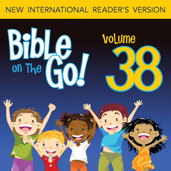 Printable Bible on the Go Vol. 38: Parables and Miracles of Jesus, Part 2 (John 6, 9; Matthew 14, 18; Luke 9-10) Audiobook Cover Art