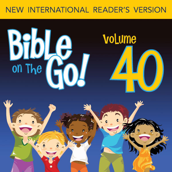 Printable Bible on the Go Vol. 40: The Rich Man; Zacchaeus; Mary's Perfume; Jesus Enters Jerusalem (Mark 10-12; Luke 18-19; John 12; Matth Audiobook Cover Art