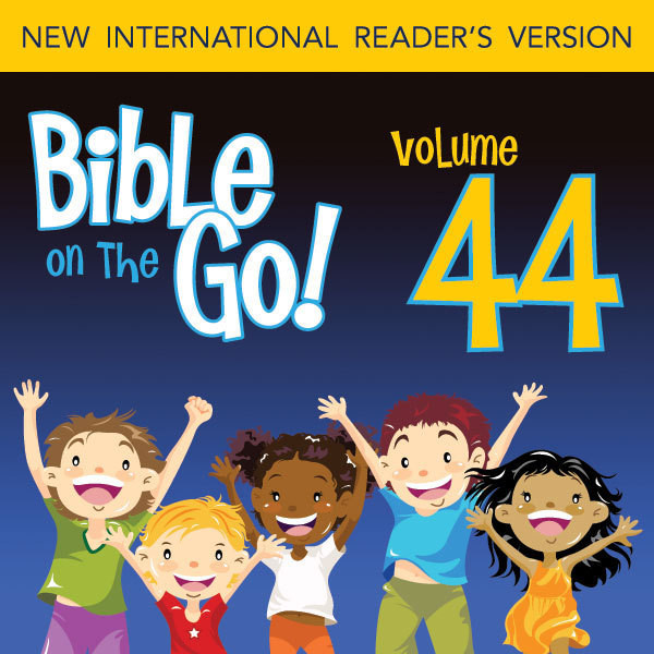 Printable Bible on the Go Vol. 44: The Story of Saul; Peter and Cornelius; Peter in Prison (Acts 9-12): The Story of Saul; Peter and Cornelius; Peter in Prison Audiobook Cover Art