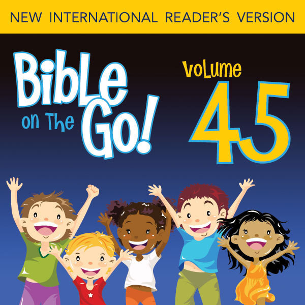 Printable Bible on the Go Vol. 45: Paul and Silas; Priscilla and Aquila; Paul's Letter to the Romans (Acts 16, 18, 20; Romans 1, 5, 8, 12): Paul and Silas; Priscilla and Aquila; Paul's Letter to the Romans (Acts 16, 18, 20; Romans 1, 5, 8, 12) Audiobook Cover Art
