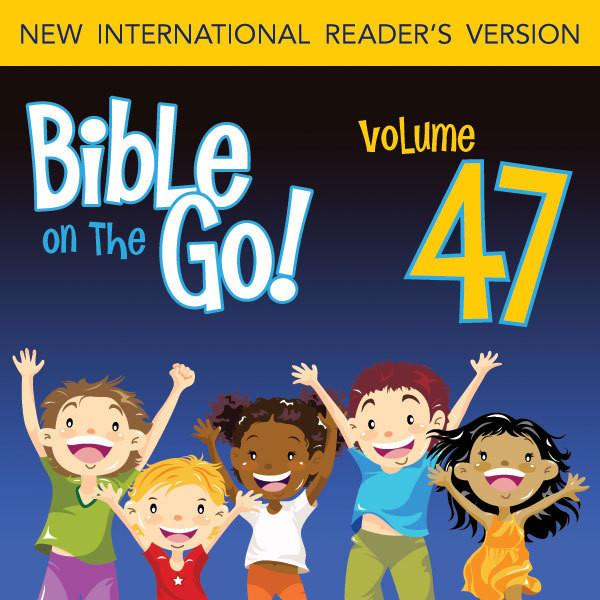 Printable Bible on the Go Vol. 47: More of Paul's Letters (Ephesians 1-2, 6; Philippians 2-3; Colossians 3; 2 Thessalonians 1): More of Paul's Letters Audiobook Cover Art