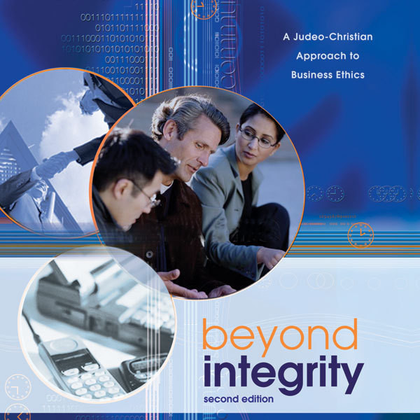 Printable Beyond Integrity: A Judeo-Christian Approach to Business Ethics Audiobook Cover Art