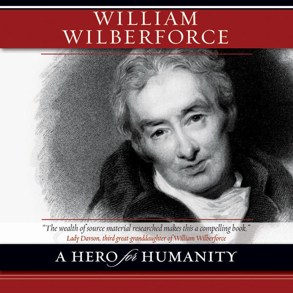 Printable William Wilberforce: A Hero for Humanity Audiobook Cover Art