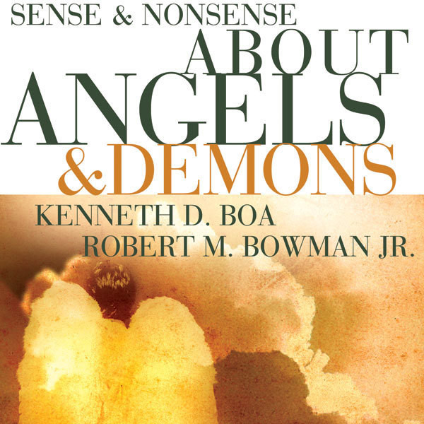 Printable Sense and Nonsense about Angels and Demons Audiobook Cover Art