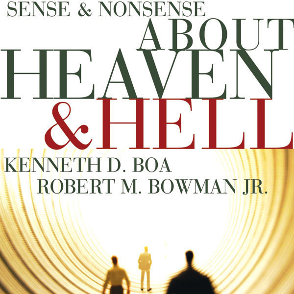 Printable Sense and Nonsense about Heaven and Hell Audiobook Cover Art