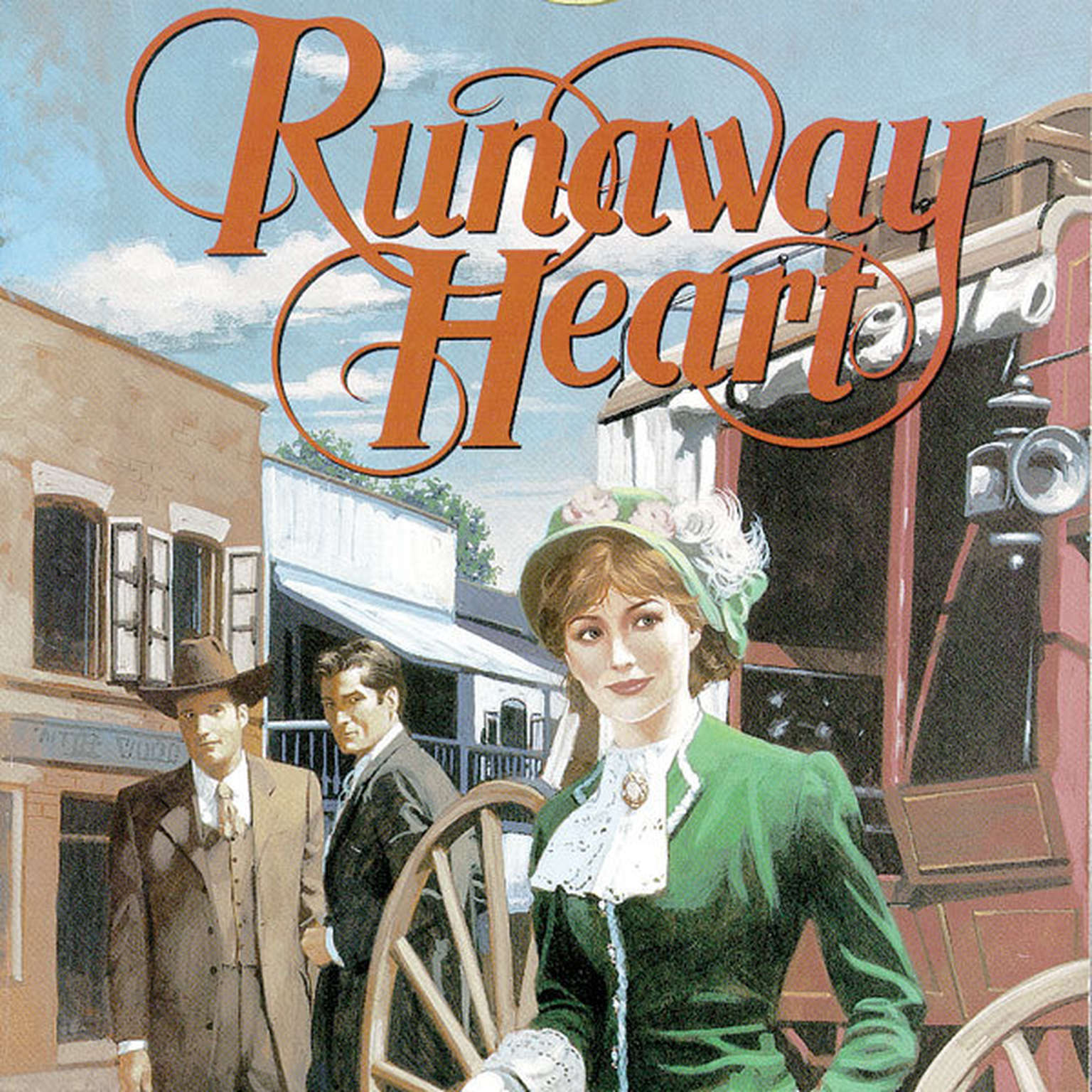 Printable Runaway Heart Audiobook Cover Art