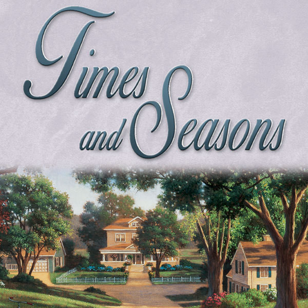Printable Times and Seasons Audiobook Cover Art