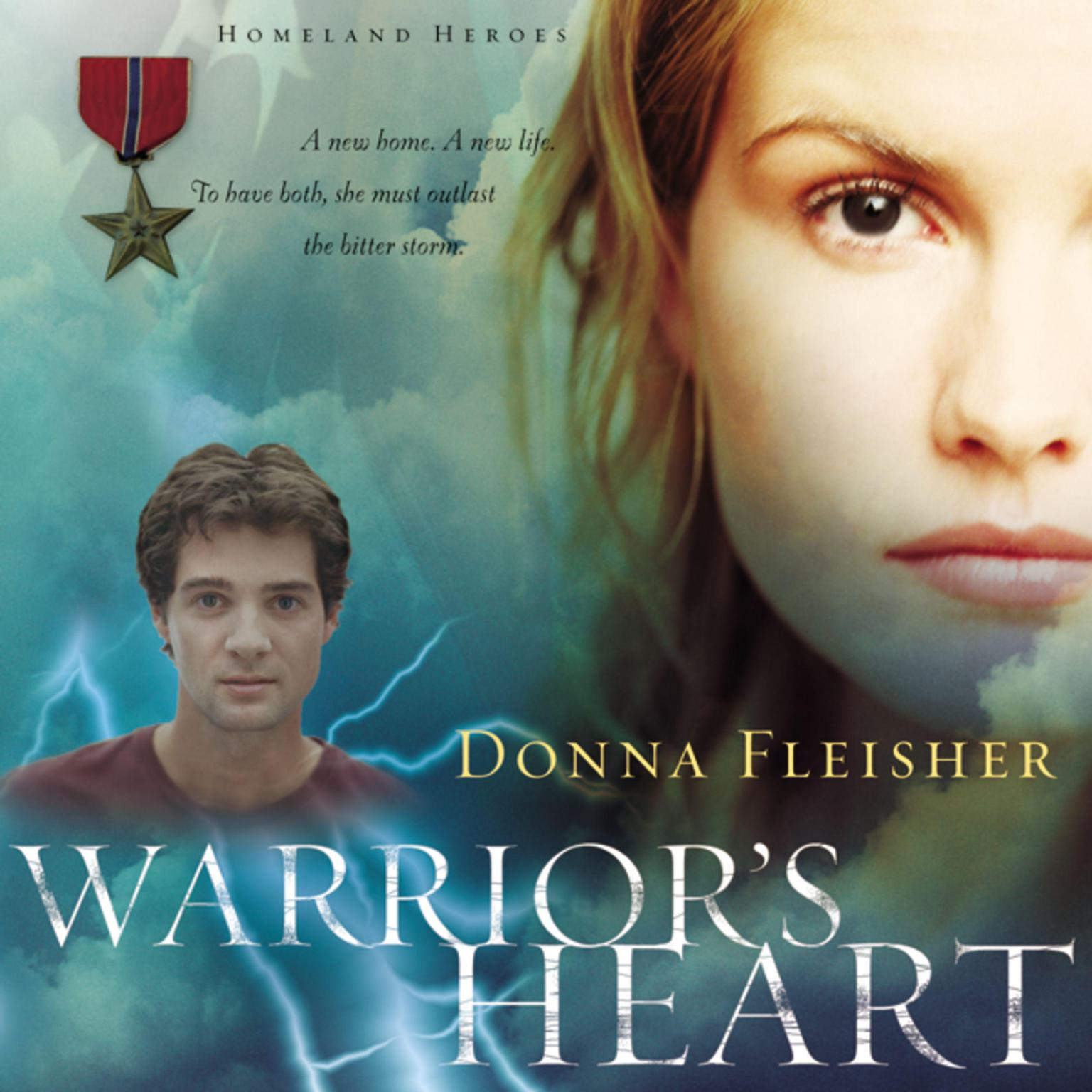 Printable Warrior's Heart Audiobook Cover Art