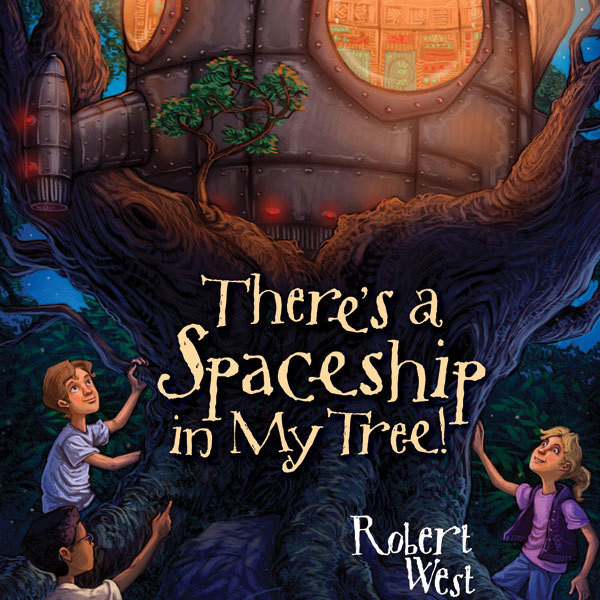 Printable There's a Spaceship in My Tree!: Episode I Audiobook Cover Art