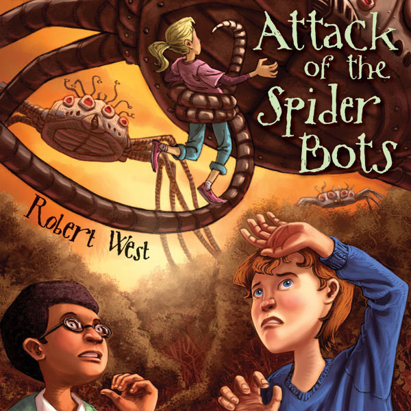 Printable Attack of the Spider Bots: Episode II Audiobook Cover Art