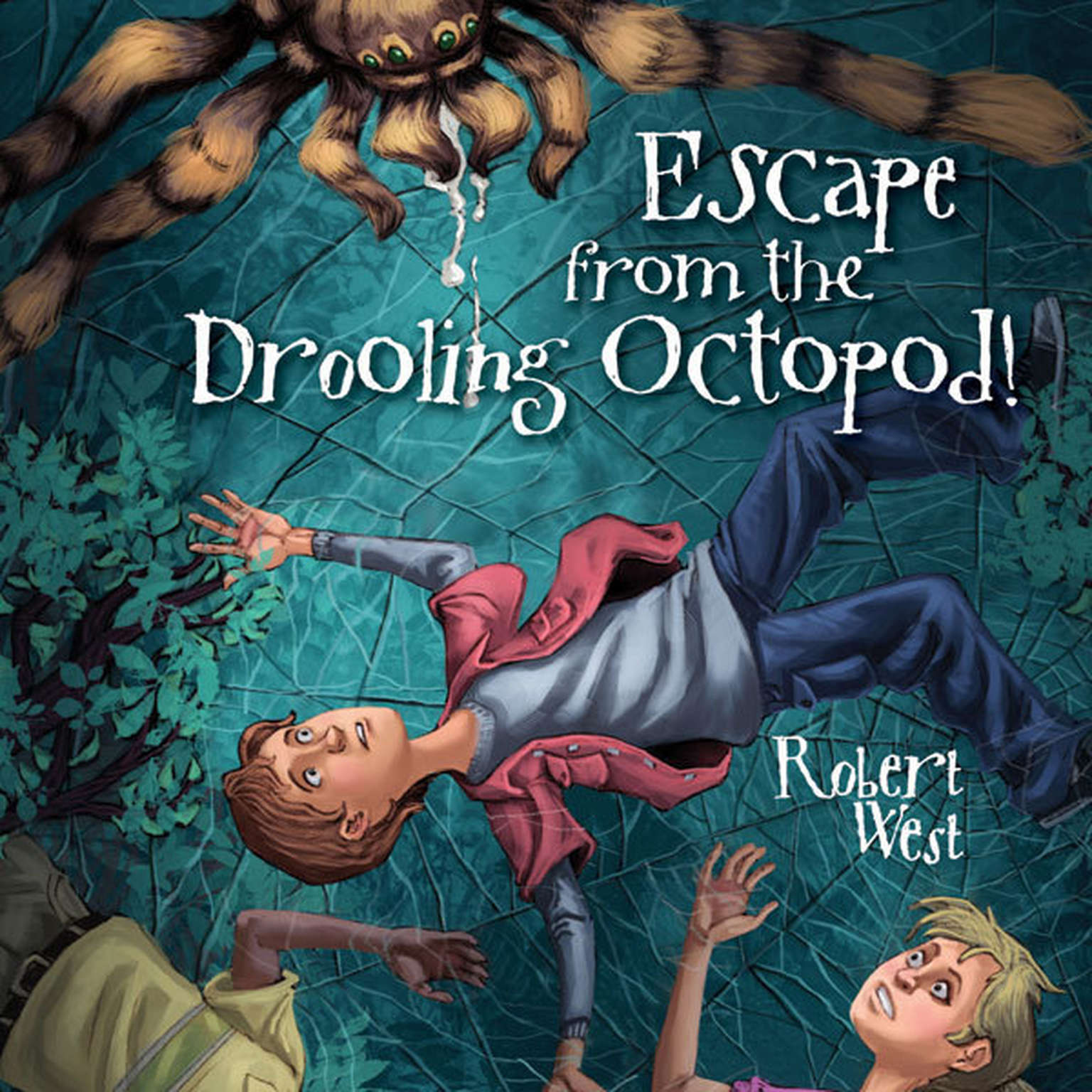 Printable Escape from the Drooling Octopod!: Episode III Audiobook Cover Art