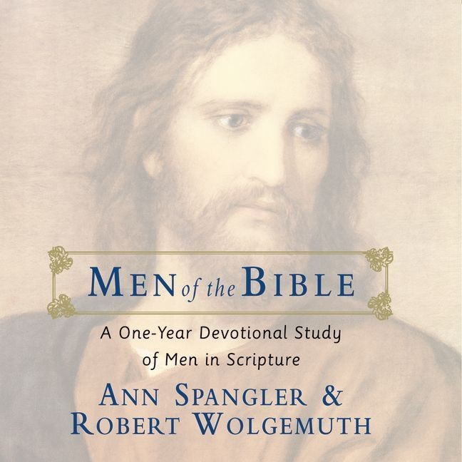 Printable Men of the Bible: A One-Year Devotional Study of Men in Scripture Audiobook Cover Art