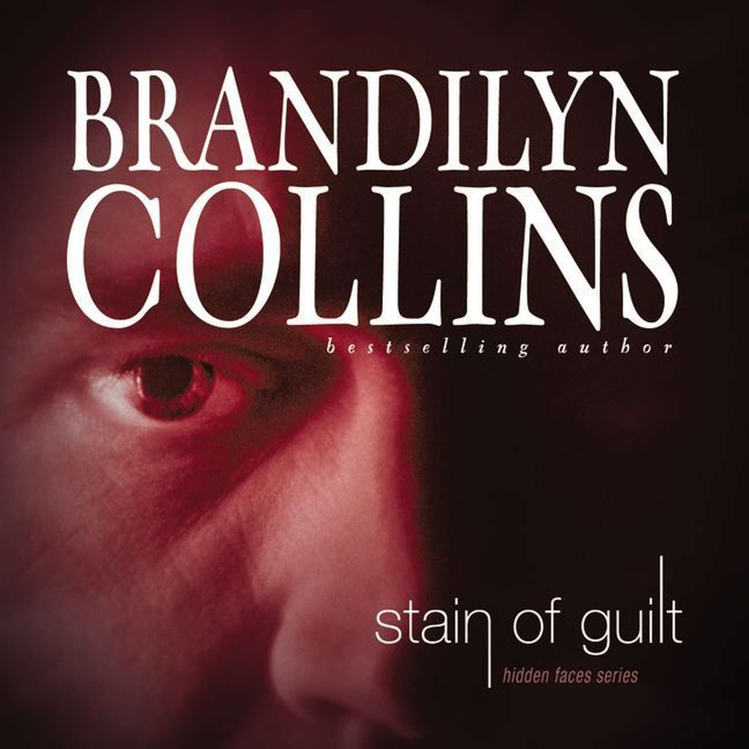 Printable Stain of Guilt Audiobook Cover Art