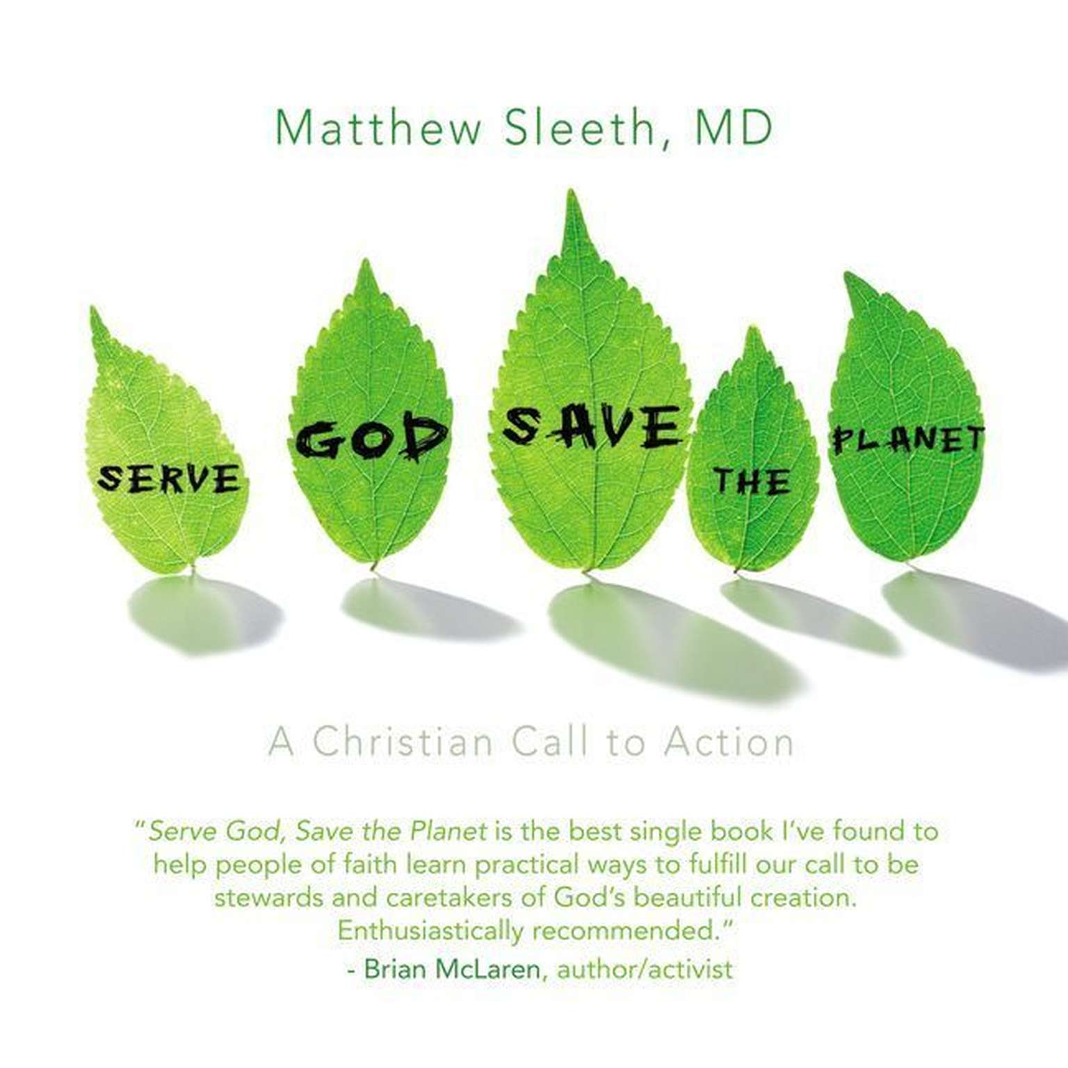 Printable Serve God, Save the Planet: A Christian Call to Action Audiobook Cover Art