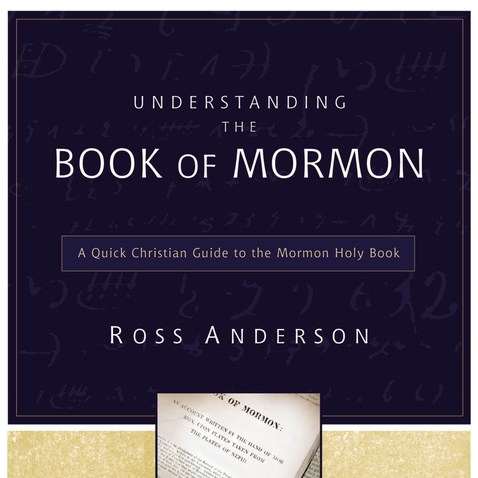 Printable Understanding the Book of Mormon: A Quick Christian Guide to the Mormon Holy Book Audiobook Cover Art