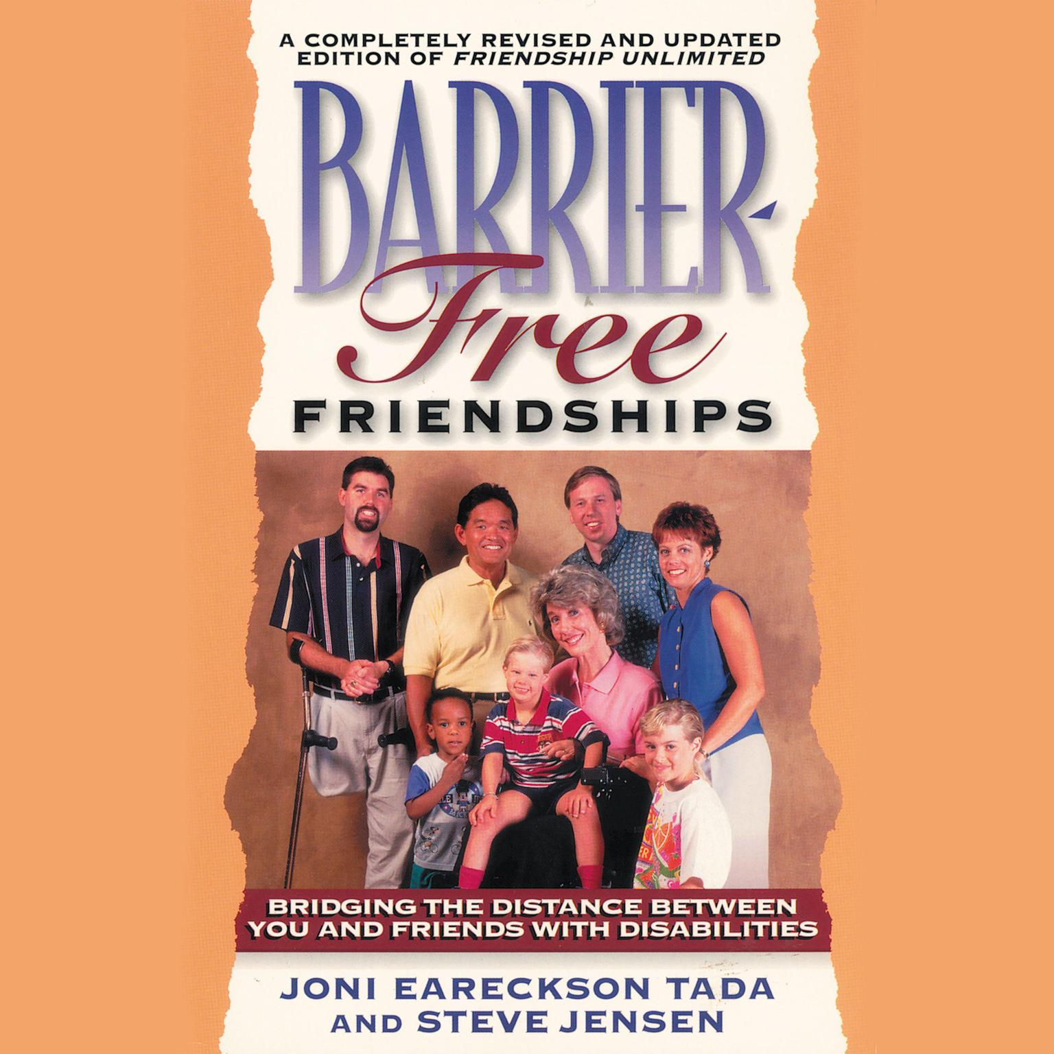 Printable Barrier-Free Friendships: Bridging the Distance Between You and Friends with Disabilities Audiobook Cover Art