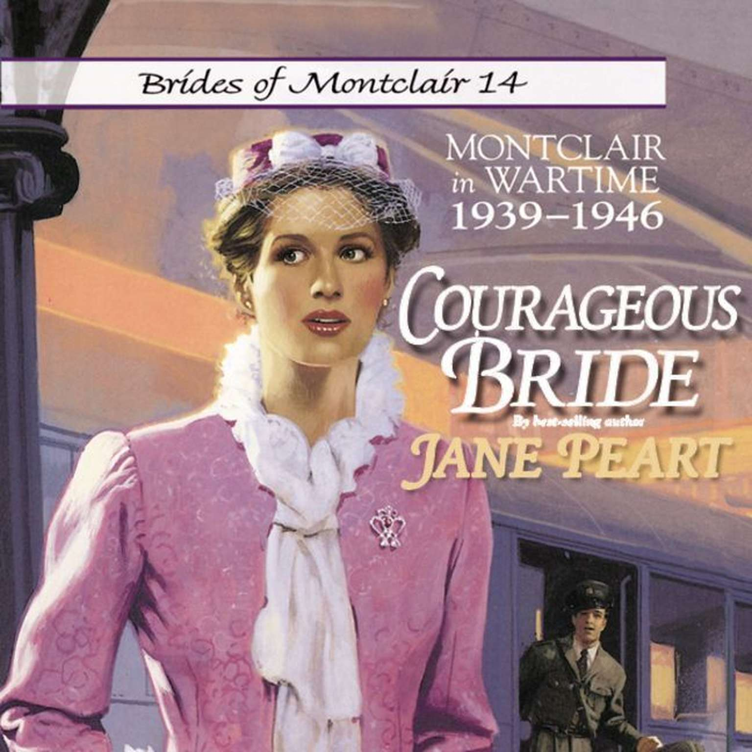 Printable Courageous Bride: Montclair in Wartime, 1939-1946 Audiobook Cover Art