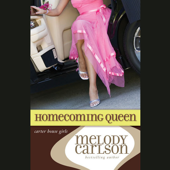 Printable Homecoming Queen Audiobook Cover Art