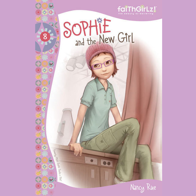 Printable Sophie and the New Girl Audiobook Cover Art