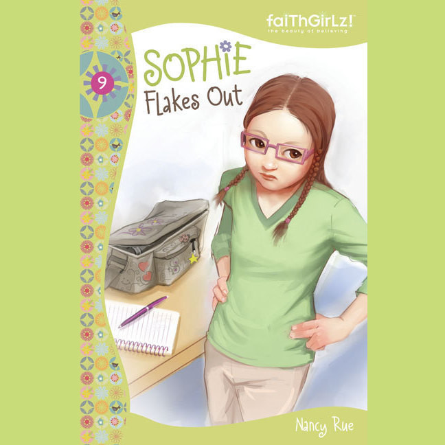 Printable Sophie Flakes Out Audiobook Cover Art
