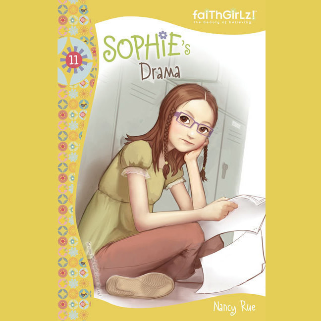 Printable Sophie's Drama Audiobook Cover Art