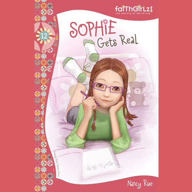 Printable Sophie Gets Real Audiobook Cover Art