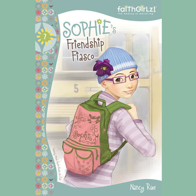 Printable Sophie's Friendship Fiasco Audiobook Cover Art