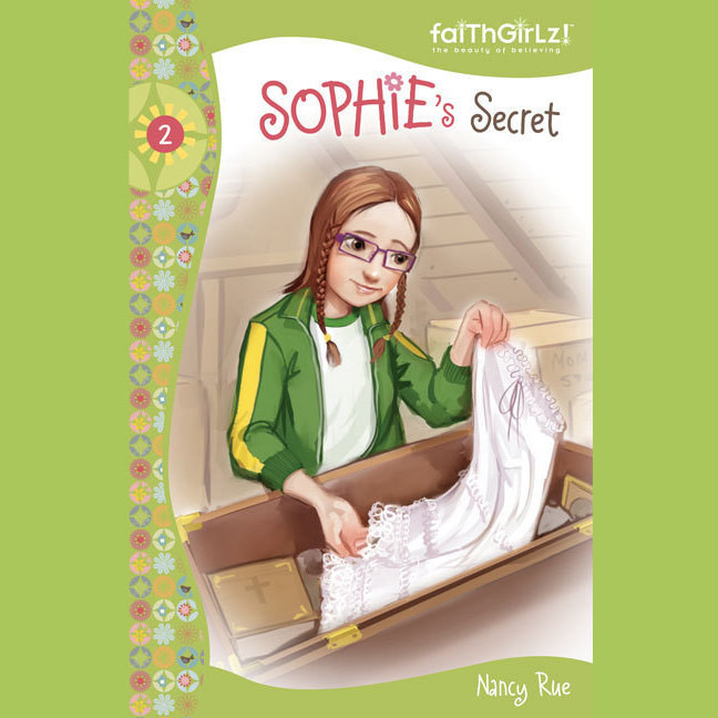 Printable Sophie's Secret Audiobook Cover Art