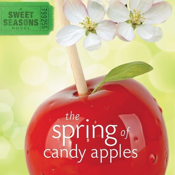 Printable The Spring of Candy Apples Audiobook Cover Art