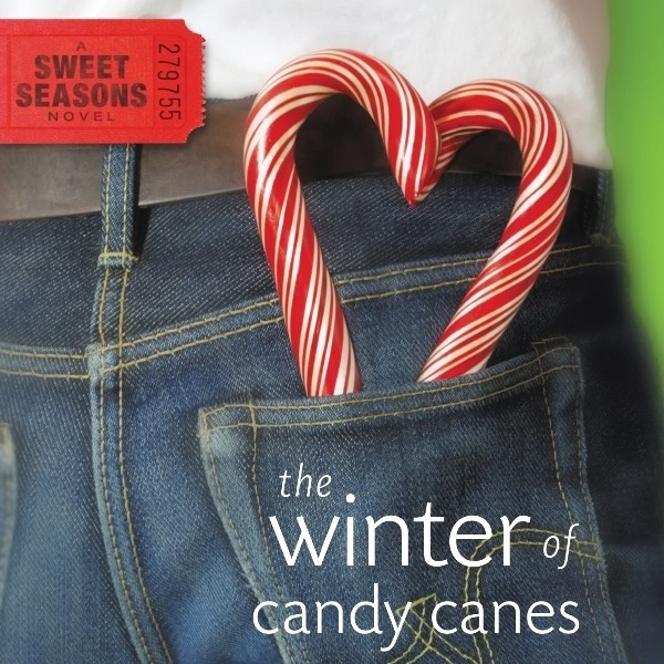 Printable The Winter of Candy Canes Audiobook Cover Art