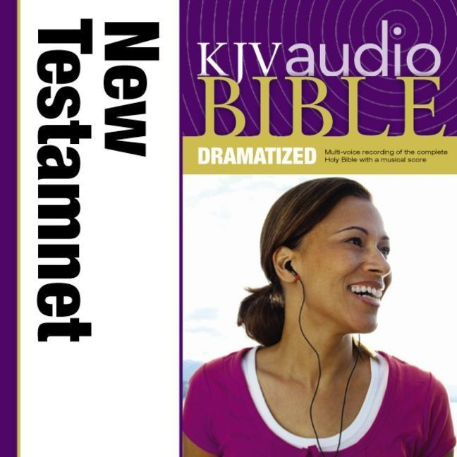 Printable KJV, New Testament Dramatized Audio, Audio Download Audiobook Cover Art